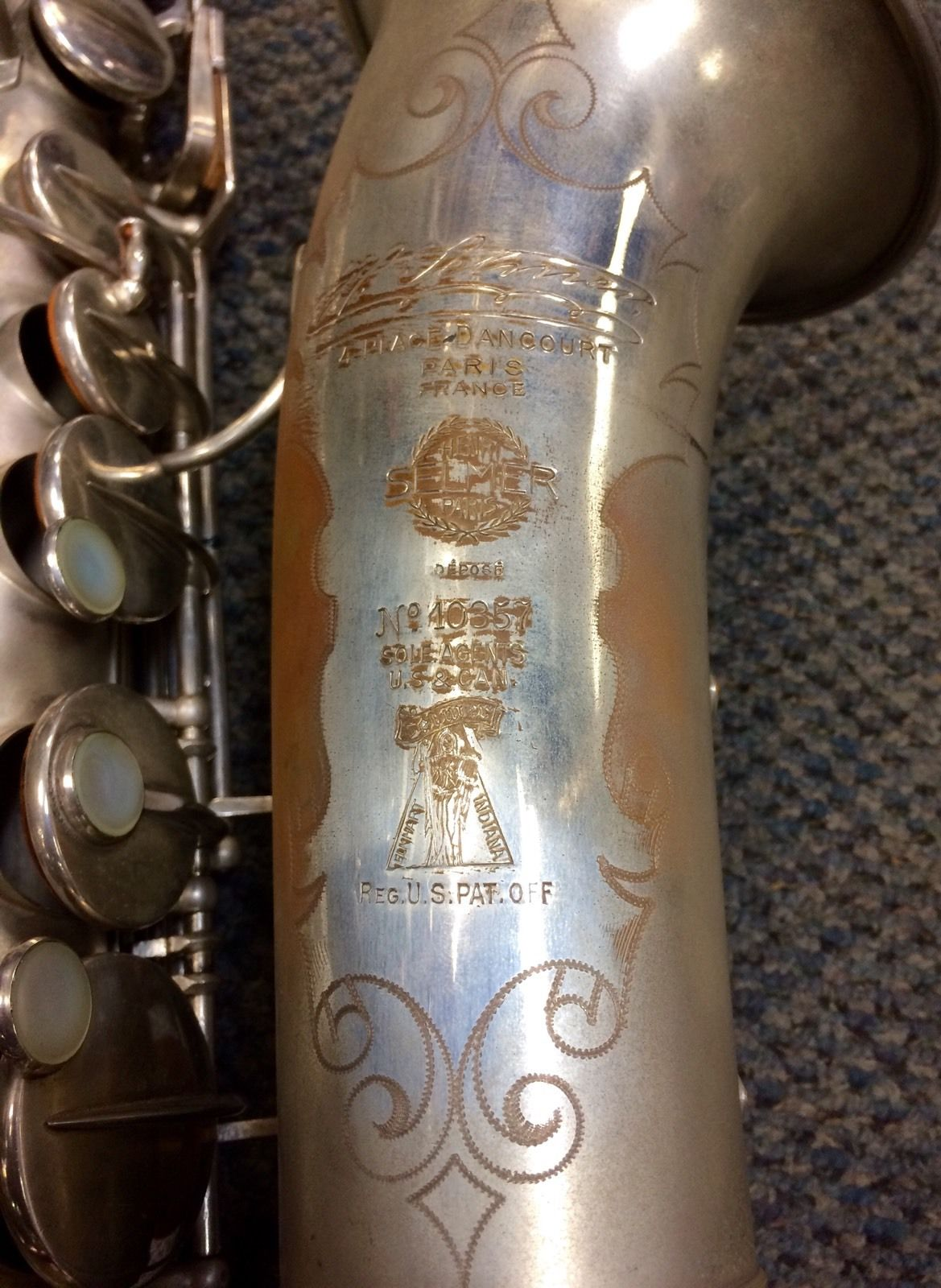 Selmer Paris model 22