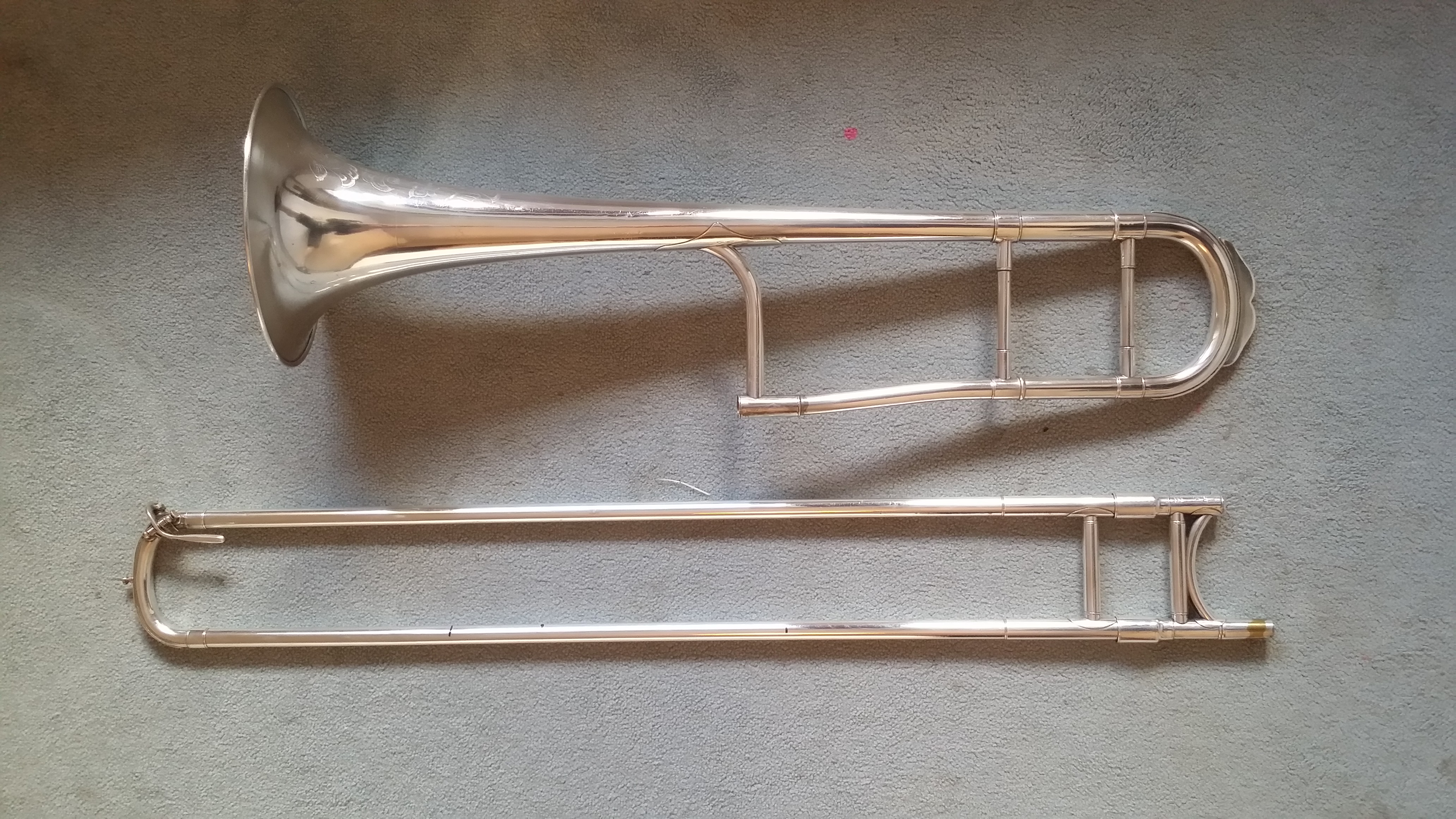 Bb tenor trombone KING New Improved Proportion (2B) 1927